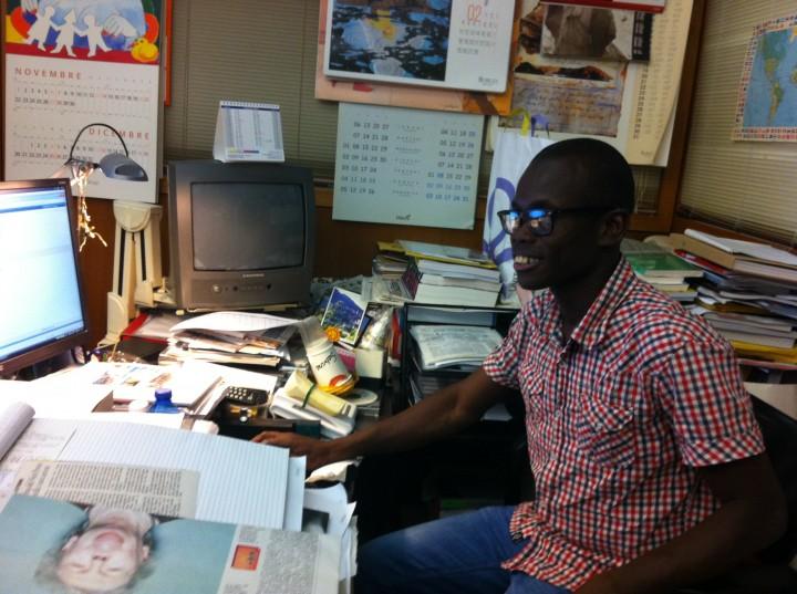 Martin accolto in Italia, si è laureato in Farmacia e ora è tornato a casa, in Togo