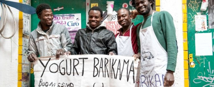 Da Rosarno allo yogurt biologico: la start up di cinque migranti africani a Roma